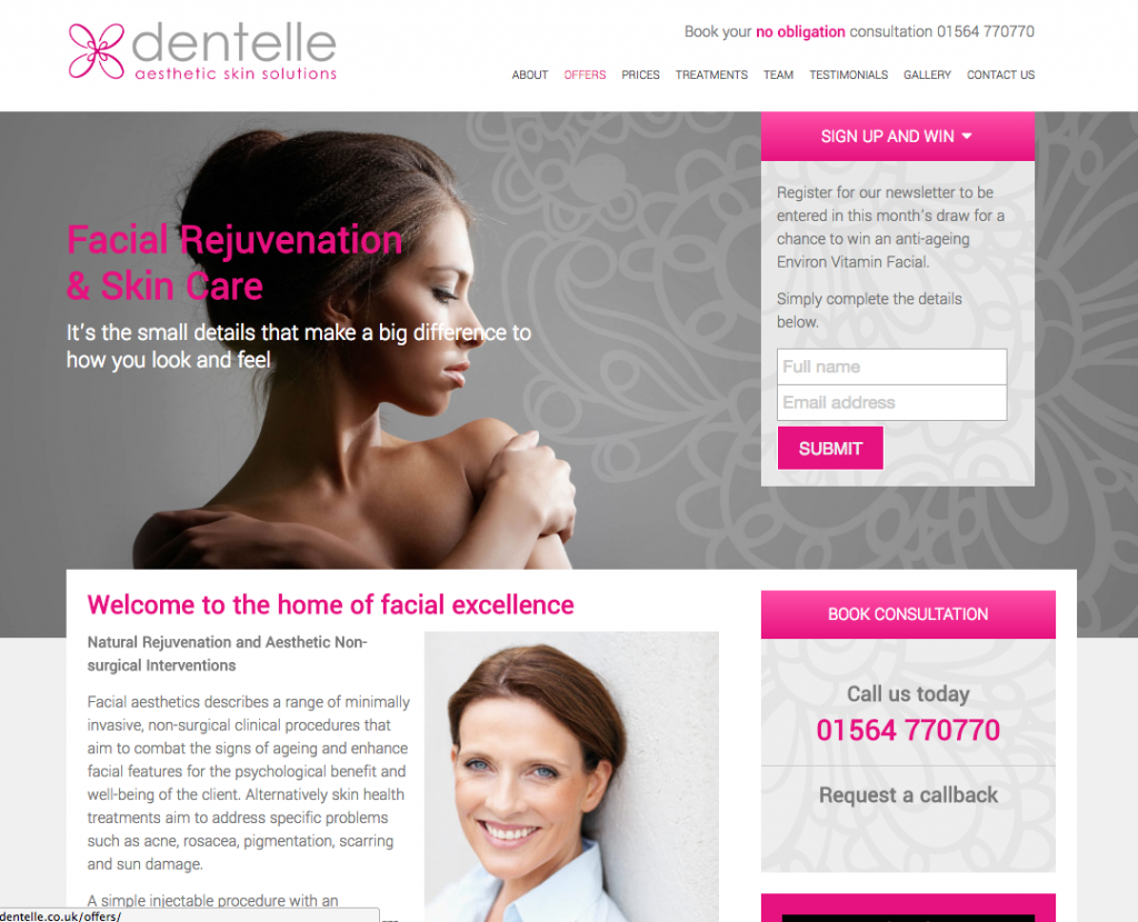dentelle-screenshot
